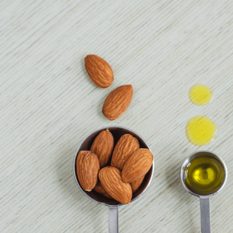 natural almond oil