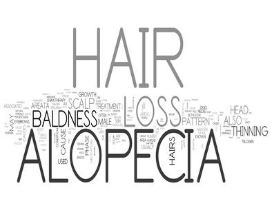 Alopecia word tags