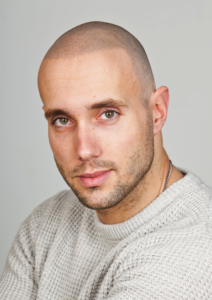 Hair tattoo as the best haircut for balding men