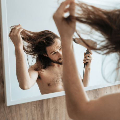 link between dandruff and hair loss