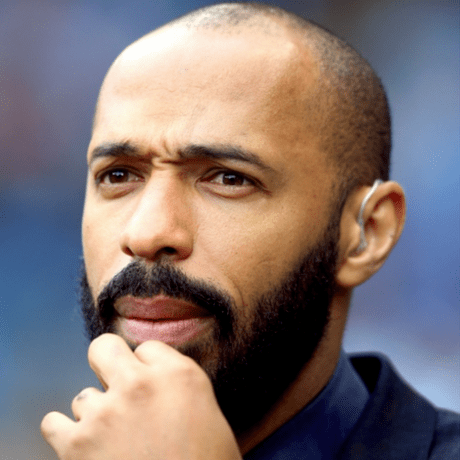 Thierry Henry Balding Men In football