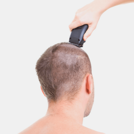 Shaving off your hair