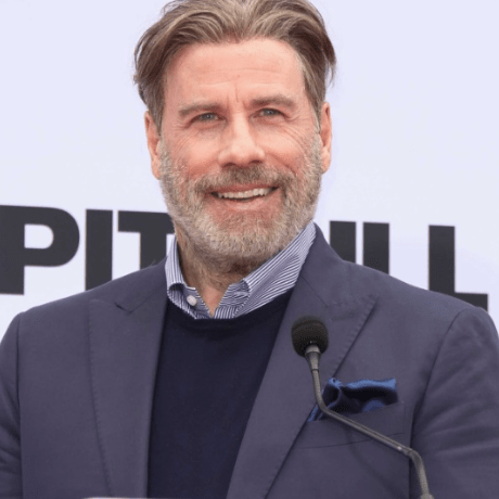 john travolta goes bald