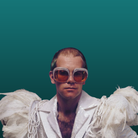 elton john with hair loss
