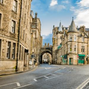 Edinburgh old town street