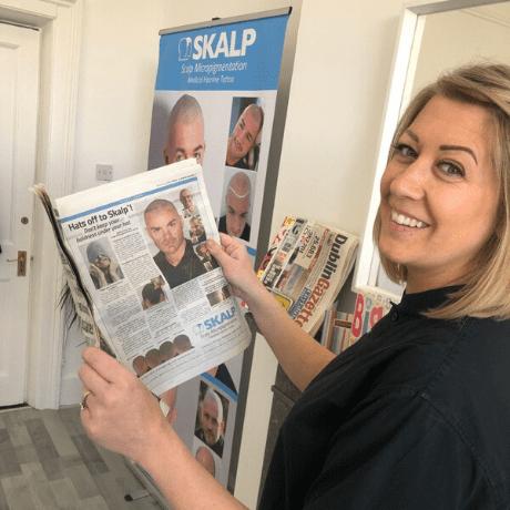 Skalp Dublin practitioner gerry